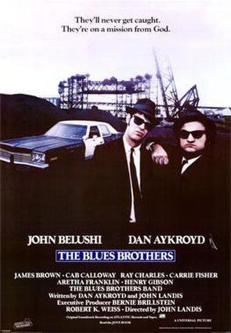 The Blues Brothers (film) - Image: Bluesbrothersmoviepo ster