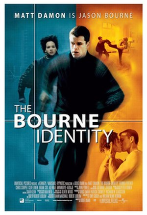 The Bourne Identity (2002 film) - Theatrical release poster