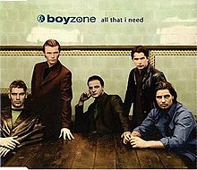 Boyzone — All That I Need (studio acapella)