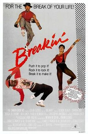 Breakin' - Theatrical release poster