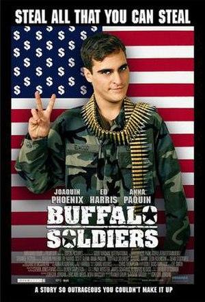 Buffalo Soldiers (2001 film) - Buffalo Soldiers film poster