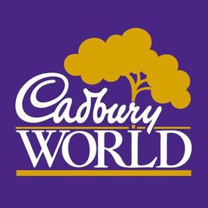 Cadbury World - Image: Cadbury World Logo