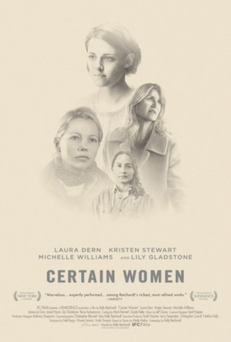 Certain Women (film) - Theatrical release poster