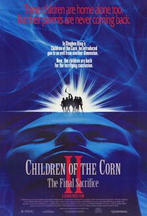 Children of the Corn II: The Final Sacrifice - Theatrical release poster