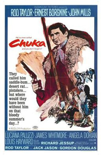 Chuka (film) - Theatrical release poster