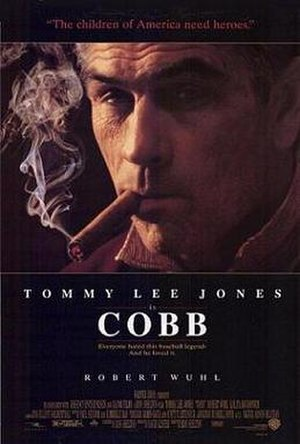 Cobb (film) - Theatrical release poster