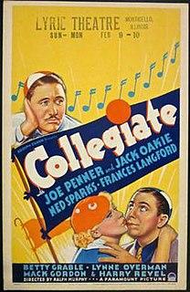 <i>Collegiate</i> (1936 film) 1936 film by Ralph Murphy