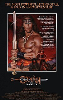 <i>Conan the Destroyer</i> 1984 film by Richard Fleischer