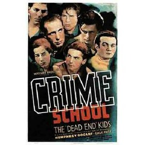 Crime School - Theatrical release poster