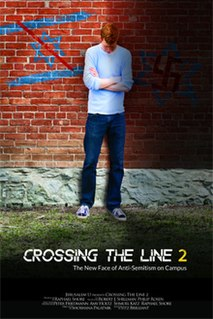 <i>Crossing the Line 2: The New Face of Anti-Semitism on Campus</i> 2015 film