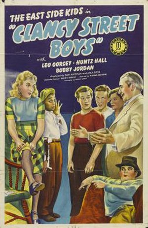 Clancy Street Boys - Original film poster