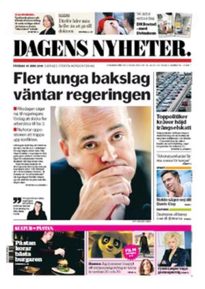 Dagens Nyheter - Image: Dagens Nyheter