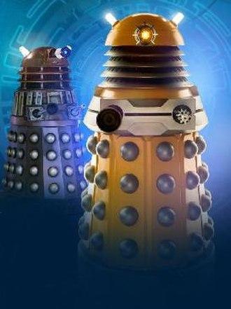 Dalek variants - Image: Daleks 2005 and 2010