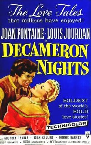 Decameron Nights - Image: Decameron Nights Film Poster