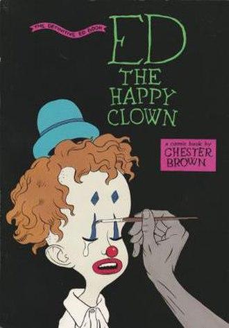Ed the Happy Clown - Ed the Happy Clown: the Definitive Ed Book cover (Vortex, 1992)