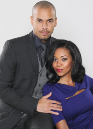 Devon Hamilton and Hilary Curtis - Bryton James and Mishael Morgan as Devon and Hilary