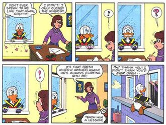 Don Rosa - Image: Don Rosa faces