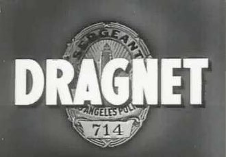 Dragnet (franchise) - Dragnet opening frame from the 1950s version