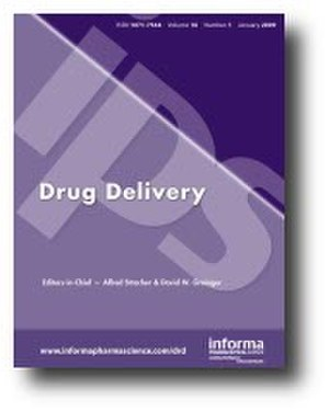 Drug Delivery (journal) - Image: Drug Delivery (Journal) cover
