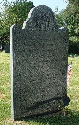Edmund Rice (colonist) - Image: Edmund Rice 1638Wayland