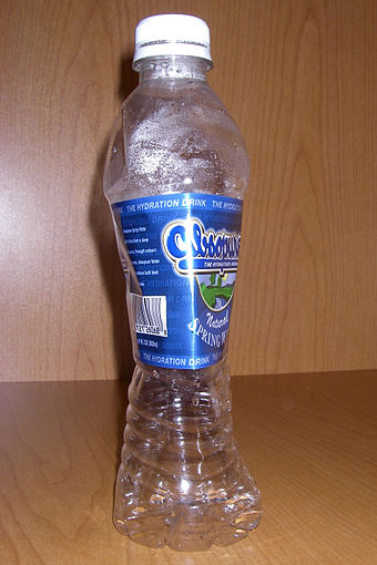 Image result for high altitude deflated water bottle