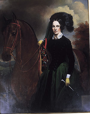 Adelicia Acklen - Portrait by William Brown Cooper