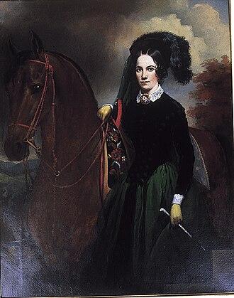 Adelicia Acklen - Portrait by William Brown Cooper