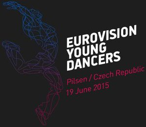 Eurovision Young Dancers 2015 - Image: Eurovision Young Dancers 2015 logo