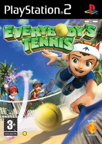 Everybody's Tennis - European cover art