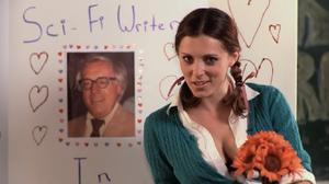 Fuck Me, Ray Bradbury - Rachel Bloom with a photograph of Ray Bradbury