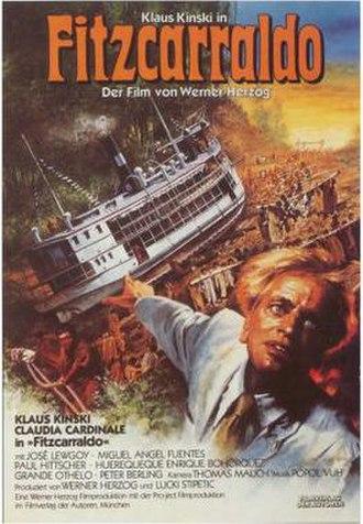 Fitzcarraldo - German film poster