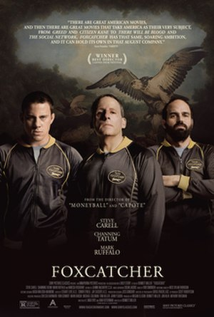 Foxcatcher - Theatrical release poster