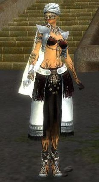 Guild Wars Factions - A female ritualist