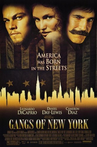 Gangs of New York - Theatrical release poster