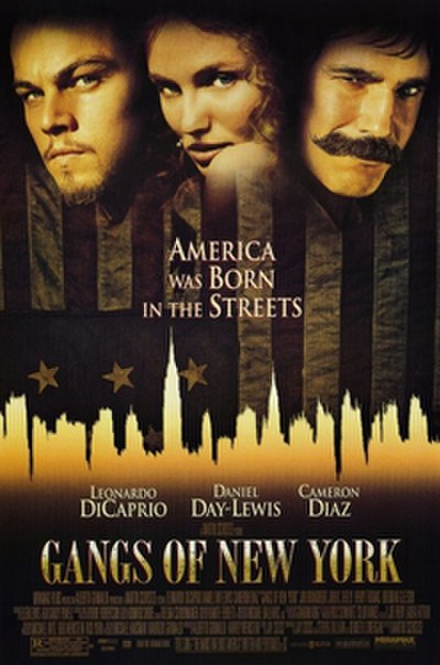 Picture of a movie: Gangs Of New York