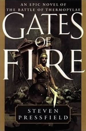 Gates of Fire - Image: Gates of Fire hardcover image