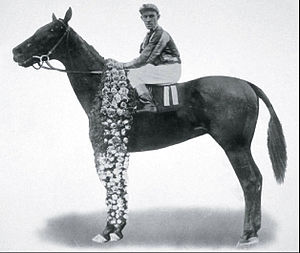 1916 Kentucky Derby - Johnny Loftus aboard George Smith at the 1916 Kentucky Derby
