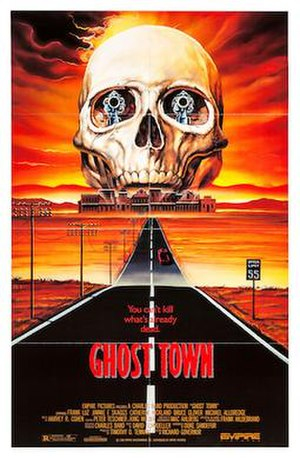 Ghost Town (1988 film) - Theatrical poster
