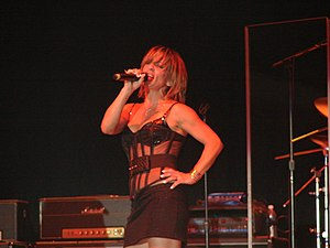 Gioia Bruno - Gioia Bruno live at an appearance in Palmdale CA in 2007