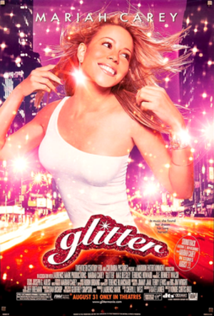 Glitter (film) - Theatrical release poster.