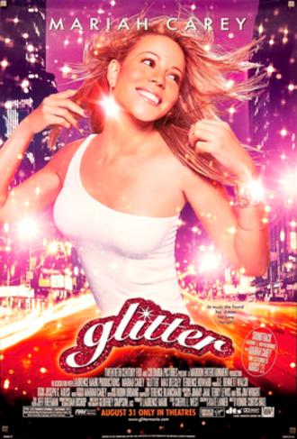 Glitter (film) - Theatrical release poster.