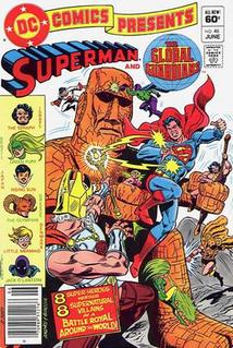 Global Guardians DC comics superhero team