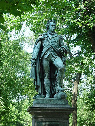John Glover (general) - Statue of Glover on Commonwealth Avenue, Boston.