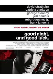 <i>Good Night, and Good Luck</i> 2005 historical drama film
