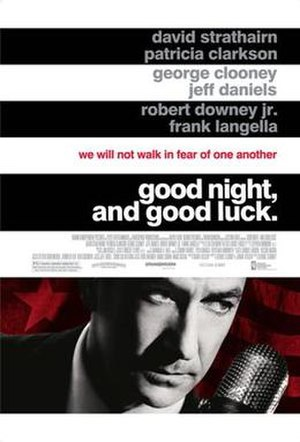 Good Night, and Good Luck - Image: Goodnight poster