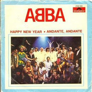 Happy New Year (song) - Image: Happy New Year Abba 45