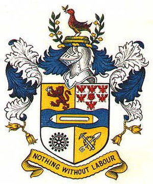 Haslingden - Arms of the former Haslingden Borough Council
