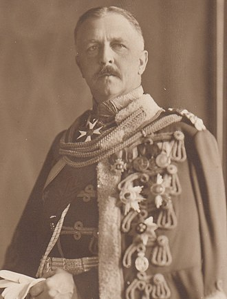 Heinrich XXVII, Prince Reuss Younger Line - Prince Heinrich XXVII ca. 1913