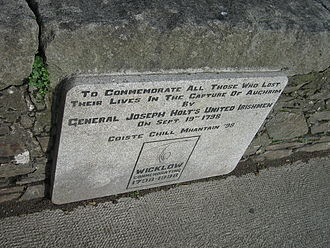 Aughrim, County Wicklow - Holt 1798 Commemoration