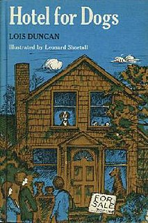 <i>Hotel for Dogs</i> 1971 book by Lois Duncan
